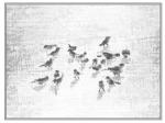 Birds in Snow note card